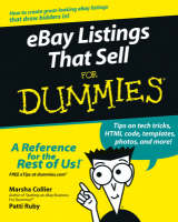 eBay Listings That Sell For Dummies (Paperback)