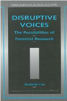 Disruptive Voices: The Possibilities of Feminist Research - Critical Perspectives on Women & Gender (Paperback)
