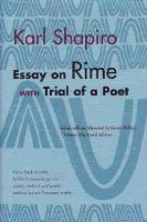 Essay on Rime: With Trial of a Poet - Poets on Poetry (Paperback)