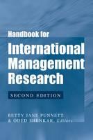 Handbook for International Management Research (Paperback)