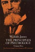 The Principles of Psychology, Vol. 2 (Paperback)