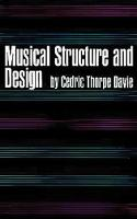 Musical Structure and Design (Book)