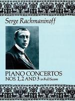 Piano Concertos Nos. 1, 2 and 3 in Full Score (Book)