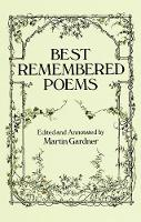 Best Remembered Poems (Paperback)