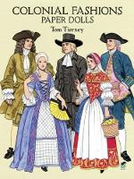 Colonial Fashions Paper Dolls - Dover Paper Dolls (Stickers)