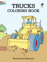 Trucks Coloring Book - Dover Design Coloring Books (Paperback)