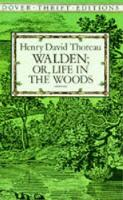 Walden: Or, Life in the Woods - Dover Thrift Editions (Paperback)