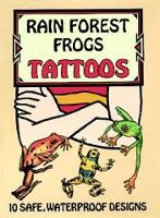 Rain Forest Frogs Tattoos - Dover Tattoos (Paperback)