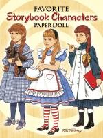 Favorite Storybook Characters Paper Doll - Dover Paper Dolls (Paperback)