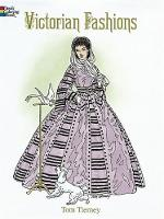 Victorian Fashions Coloring Book - Dover Fashion Coloring Book (Paperback)
