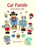 Cat Family Sticker Paper Dolls - Dover Paper Dolls