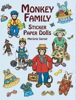 Monkey Family Sticker Paper Dolls - Dover Paper Dolls