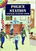 Police Station Sticker Activity Book - Dover Little Activity Books (Paperback)