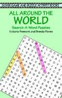 All around the World Search A Word - Dover Children's Activity Books (Hardback)