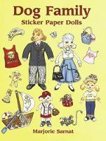 Dog Family Sticker Paper Dolls - Dover Paper Dolls (Paperback)