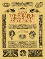 2600 Typographic Ornaments and Designs - Dover Pictorial Archives (Paperback)