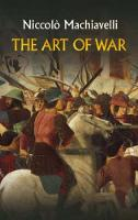 The Art of War - Dover Military History, Weapons, Armor (Paperback)