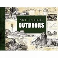 Sketching Outdoors - Dover Art Instruction (Paperback)