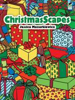 Christmasscapes - Dover Holiday Coloring Book (Paperback)