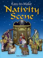 Easy-to-Make Nativity Scene - Dover Children's Activity Books (Paperback)