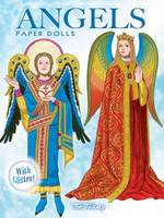 Angels Paper Dolls: With Glitter! - Dover Paper Dolls (Paperback)