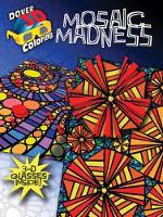 Mosaic Madness - Dover 3-D Coloring Book (Paperback)
