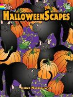 Halloweenscapes - Dover Holiday Coloring Book (Paperback)