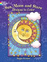 Sun, Moon and Stars Designs to Color (Paperback)