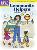 BOOST Community Helpers Coloring Book - BOOST Educational Series (Paperback)
