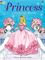 Princess Coloring Book - Dover Coloring Books (Paperback)