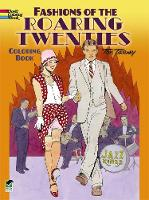 Fashions of the Roaring Twenties Coloring Book - Dover Coloring Books (Paperback)