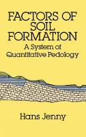 Factors of Soil Formation: A System of Quantitative Pedology - Dover Earth Science (Paperback)