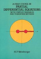 A First Course in Partial Differential Equations with Complex Variables and Transform Methods - Dover Books on Mathematics (Paperback)