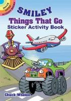 Smiley Things That Go Sticker Activity Book (Paperback)