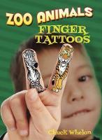 Zoo Animals Finger Tattoos (Paperback)