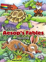 Best-Loved Aesop's Fables Coloring Book (Paperback)