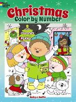 Christmas Color by Number - Dover Children's Activity Books (Paperback)