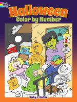 Halloween Color by Number (Paperback)