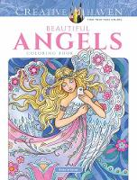 Creative Haven Beautiful Angels Coloring Book - Creative Haven (Paperback)