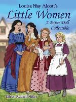 Louisa May Alcott's Little Women: A Paper Doll Collectible (Stickers)