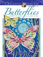 Creative Haven Butterflies Flights of Fancy Coloring Book - Creative Haven (Paperback)