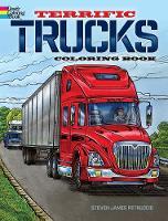 Terrific Trucks Coloring Book (Paperback)
