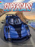 Supercars Coloring Book - Dover Coloring Book (Paperback)