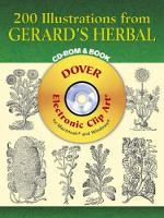 200 Illustrations from Gerard's Herbal - Dover Electronic Clip Art (CD-ROM)