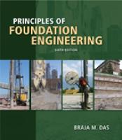 Principles of Foundation Engineering (Paperback)