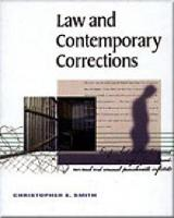 Law and Contemporary Corrections (Paperback)