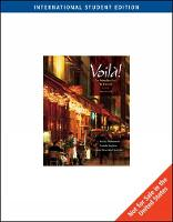 Voila!: An Introduction to French (with Audio CD), International Edition