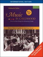 Music in Childhood: Enhanced Edition, International Edition (Paperback)