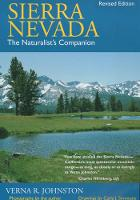 Sierra Nevada: The Naturalist's Companion, Revised edition (Paperback)