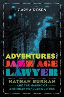 Adventures of a Jazz Age Lawyer